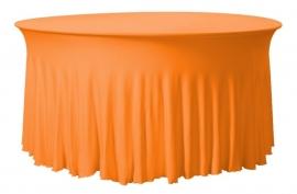 Tischhusse Grandeur Rund Orange