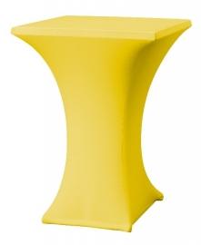 Stehtischhusse Rumba Gelb