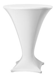 Stehtischhusse Cocktail Weiß