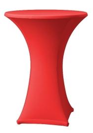 Stehtischhusse Samba Rot