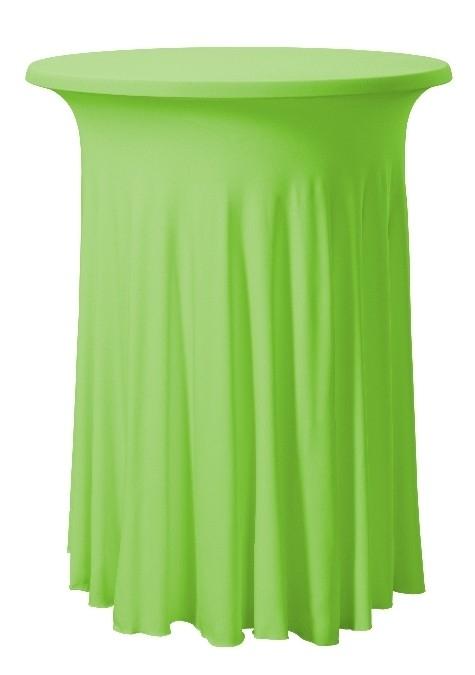 Stehtischhusse Wave Apfelgrün
