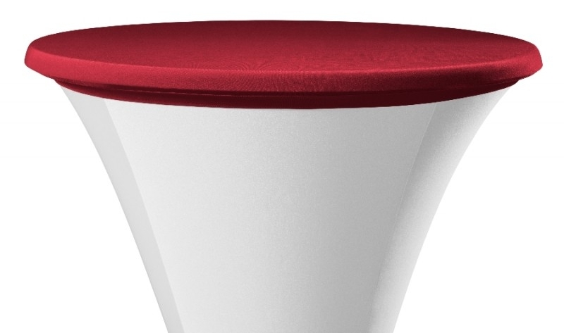 Tischplatten Bezug Easy Jersey Bordeauxrot