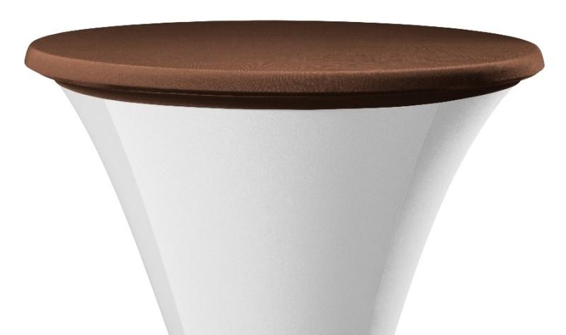 Tischplatten Bezug New Jersey Braun