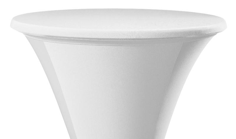 Tischplatten Bezug Easy Jersey Weiß