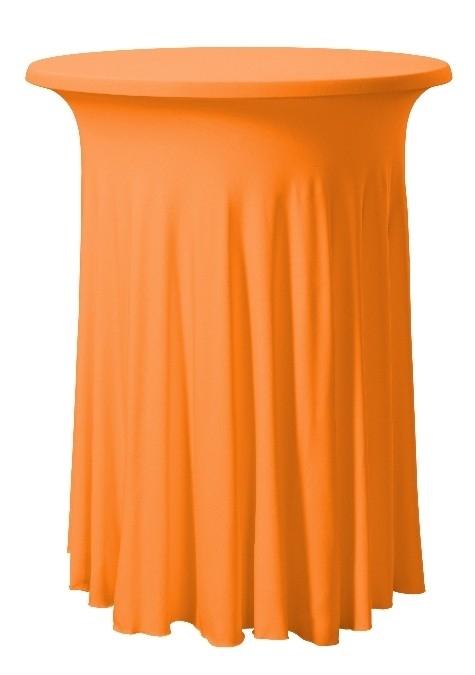 Stehtischhusse Wave Orange