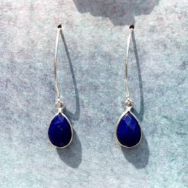 Lapis Lazuli oorhaken