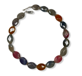 Collier Multi color Agaat