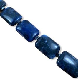 Collier Sodaliet en Hematiet