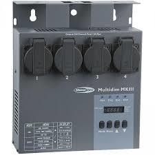 Showtec dimmer / switchpack huren