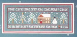 The drawn thread - Christmas cheer