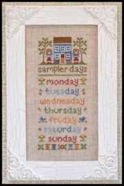 Country Cottage Needleworks - Sampler day
