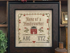 """Little House Needleworks - """"Home of a Needleworker, Squared"""""""