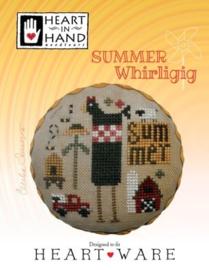 Heart in Hand - Summer Whirligig