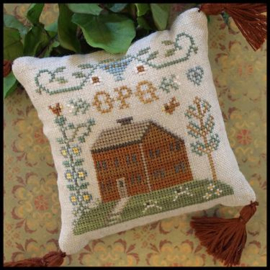 Little House Needleworks - ABC Samplers - Nr. 6 OPQ