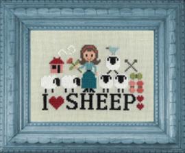 Jardin Privé - I love sheep (les p'tites bonnes femmes)
