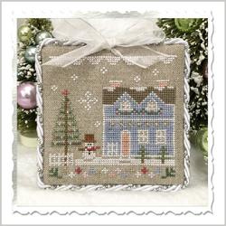 "Country Cottage Needleworks - Glitter Village - ""Glitter House 9"""