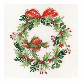 Bothy Threads - Robin Wreath
