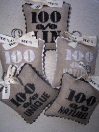 100% lin - 100% naturel - 100% unique