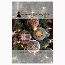 Heartstring Samplery - Tea Ball Ornaments