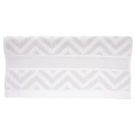 Rico - Handdoek grijs met zigzag (ref. 740258.18)