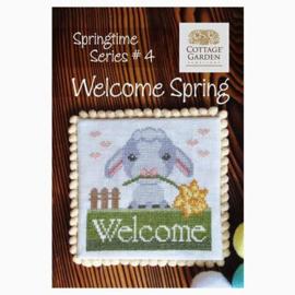 Cottage Garden Samplings - Welcome Spring (Springtime series nr. 4)