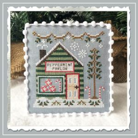 "Country Cottage Needleworks - Snow Village - ""Peppermint Parlor"" (nr. 4)"