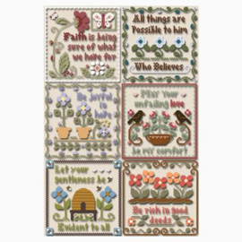 "Little House Needleworks - ""Inspirational Scriptures"""