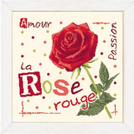Lili Points - J015  - La Rose Rouge