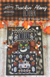 Stitching with the Housewives - Truckin' Along - October