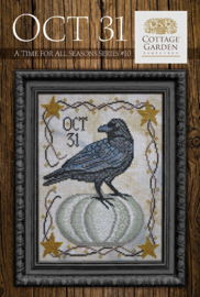 Cottage Garden Samplings - Oct 31 (A time for all season series nr. 10