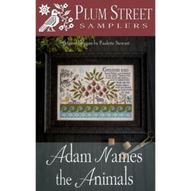 Plum Street Samplers - Adam Names the Animals
