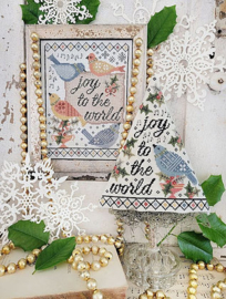 Hello from Liz Mathews - Fourth Day of Christmas (Sampler & Tree)
