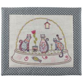 Un chat dans l'aiguille - Boule Chats (ref. 736)