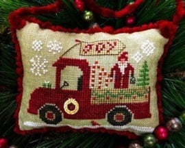 "Homespun Elegance - ""Christmas Joy Truck"""