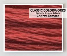 Classic Colorworks - Cherry Tomato