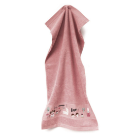 Rico Design - Handdoek (roze) (art. 740272.18)