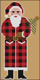 "Twinpeak Primitives - Rustic Christmas Series ""Woodland Santa"""