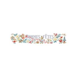"""Les Brodeuses Parisiennes - """"Le Noël des animaux"""" (patroon)"""