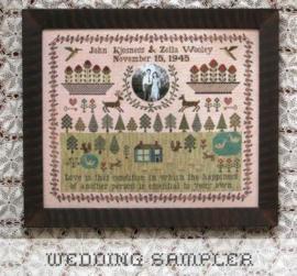 Heartstring Samplery - Wedding Sampler