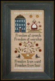 Little House Needleworks - Four Freedoms