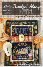 Stitching with the Housewives - Truckin' Along - November