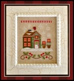 Country Cottage Needleworks - Santa`s House - Poinsettia Place (nr. 2)