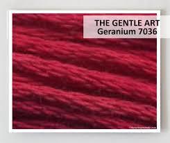 The Gentle Art - Geranium
