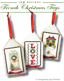JBW Designs - French Christmas Tags (ref. 386)