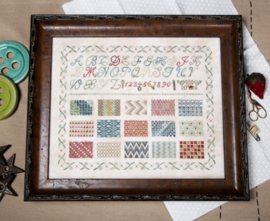 Jeannette Douglas - Learning Stiches Sampler