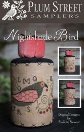 Plum Street Samplers - Nightshade Bird