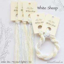Nina's Threads - White Sheep