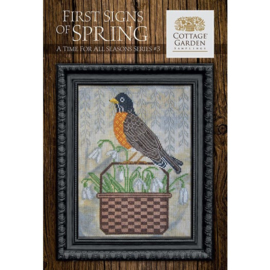 Cottage Garden Samplings - First signs of Spring (A time for all season series nr. 3)