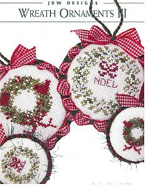 JBW Designs - Wreath Ornaments III