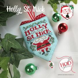 Hands on Design - Holly St. Nick (Secret Santa)